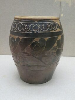 Glazed pots have been a feature in garden for centuries